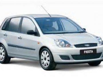 Ford Fiesta Old Model Car Rental Car Hire In Larnaca Cyprus