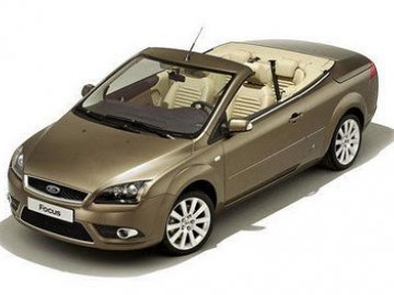 Ford Focus Convertible  car hire in Laranca