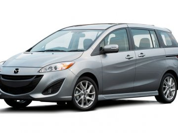 Mazda 5 (7 Seats) car hire in Laranca