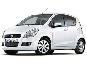 Suzuki Splash or similar car hire in Laranca