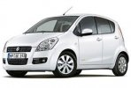 Suzuki Splash or similar car for hire in Paphos Cyprus